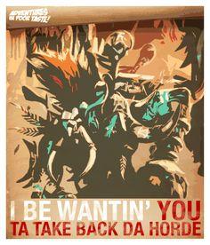 Take Back the Horde:  Vol'jin, Leader of the Darkspear Tribe