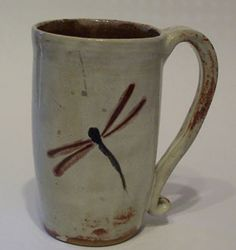 MY FAVORITE CUP!!!!!  dragonfly - $25 Knitting Lagniappe Shop