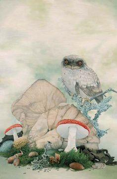 Surreal Wildlife Paintings by Tiffany Bozic