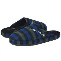 Papuci casa S.Oliver albastru negru #homeshoes #cozy #Shoes Slippers, Shoes, Fashion, Moda, Sneakers, Shoes Outlet, Fashion Styles, Slipper, Shoe