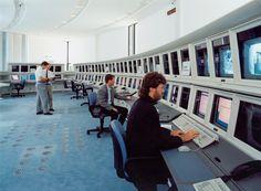 EUMETSAT's control room in 1995
