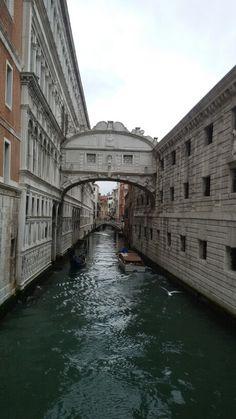 Venezia, ponte dei Sospiri - 27 febbraio 2016
