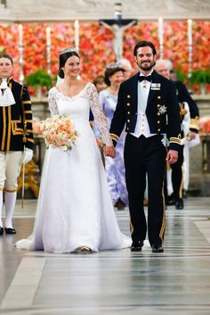Best Swedish Royal Wedding Pictures 2015 | POPSUGAR Celebrity