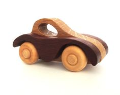 Wooden Car Toy Childrens Wood Toy Waldorf Toy by OohLookItsARabbit, $16.00