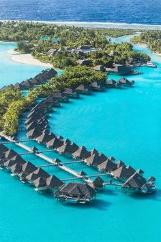 The St. Regis Bora Bora Resort, Aerial