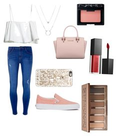 """""""Untitled #1"""" by dany-em on Polyvore featuring Dorothy Perkins, Michael Kors, Vans, Casetify, NARS Cosmetics, Smashbox and Urban Decay"""
