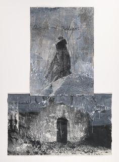 Artwork page for 'Oedipus at Colonus', Anselm Kiefer, 2006 Anselm Kiefer, Contemporary Abstract Art, Modern Art, Graphic Design Illustration, Illustration Art, Statues, Collage Art Mixed Media, Unusual Art, Matte Painting