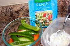 "Add ranch dressing seasoning to plain low-fat Greek yogurt and you have a healthy, high protein, low calorie ranch dressing. ""Live…Don't Diet"" add a couple tablespoons lite mayo and maybe lemon juice? Healthy Habits, Healthy Life, Healthy Eating, Healthy Food, Plant Based Diet, Plant Based Recipes, Low Calorie Sauces, Diet Recipes, Healthy Recipes"