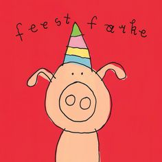 first birthday decorations ideas Happy Birthday Pig, Happy Brithday, Happy Birthday Quotes, Birthday Blessings, Bday Cards, Happy B Day, My Drawings, Really Cool Stuff, Congratulations
