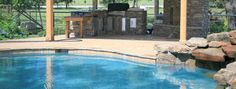 Pools Fireplaces Outdoor Remodels | ... | Houston Pool Builders | Houston Pools & Spas Construction Company
