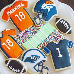 Game day! What snacks are you making? [Search Football on website for Cookie Cutters]  @thedessertpantry #cookiecutterkingdom