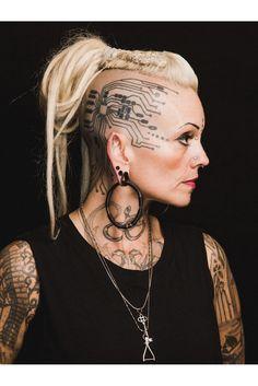 Tattoos and piercings. Head Tattoos, Arm Tattoo, Body Art Tattoos, Knuckle Tattoos, Samoan Tattoo, Polynesian Tattoos, Tattoo Ink, Cool Face Tattoos, Sleeve Tattoos