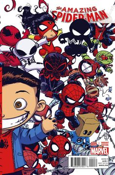AMAZING SPIDER-MAN #9 Variant Cover by SKOTTIE YOUNG