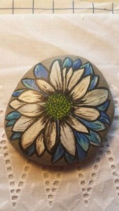 Hand painted welsh beach stones