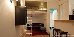 Alquiler apartamento Estudio Paris rue Saint Denis 2 do Districto - Alquiler Metro Étienne Marcel