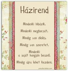 Házirend..mindenki hibazik.. Positive Thoughts, Positive Vibes, Positive Quotes, Daily Motivation, Classroom Decor, Kids And Parenting, Cool Things To Make, Signs, Quotes