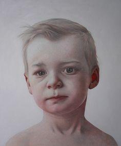 Annemarie BusschersRutger, 2007, pencil, Japanese paper, crayon, acrylic on cotton, 95 x 130 cm.