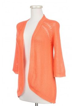 10/28/14 Type 1 Double Space Cardigan $39.98