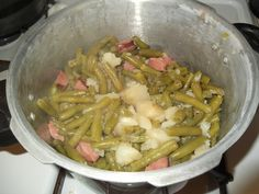 Pressure Cooker Green Bean Recipe