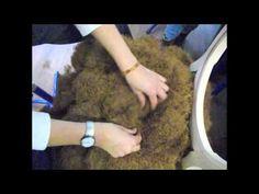 13-La mise en crin - BAC PROFESSIONNEL TAPISSERIE BOULLE LPMA