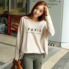 Buy 'CLICK – Lettering Long T-Shirt' with Free International Shipping at YesStyle.com. Browse and shop for thousands of Asian fashion items from South Korea and more!