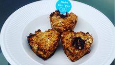 Gezond eten met Karen: Havermout muffins met kersen