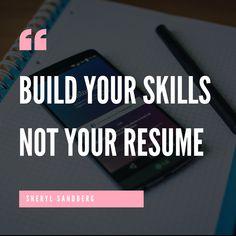 Skills & Self = Success