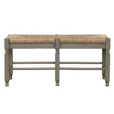 Harper Blvd Kennon Seagrass Bench/ Cocktail Table