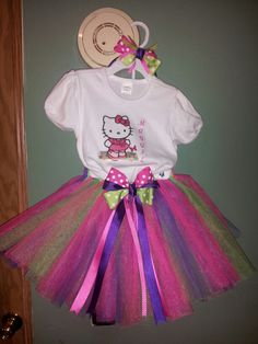 Tutu hello kitty