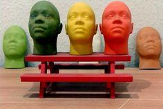 Miniature human faces
