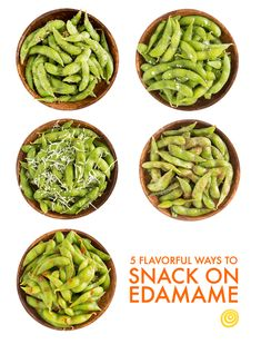 Edamame may be your warm-up before a sushi dinner, but its best role is as a snack-time superstar. On its own, edamame doesn't pack a whole lot of flavor, but when you think of it as a total blank canvas, the possibilities of turning it into a punchy snack are endless.