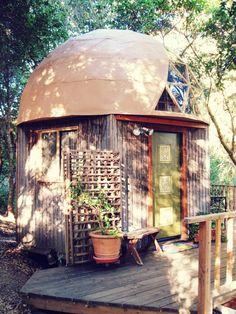 The Mushroom Dome Tiny House