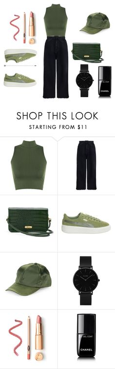 """""""Untitled #506"""" by deamolla on Polyvore featuring WearAll, Zimmermann, Buxton, Puma, COLLECTION 18, CLUSE and Chanel"""