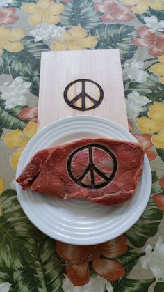 Peace Sign Branding Iron...Steak Brander...Wedding Gifts...Groomsmen gifts...Birthday Gifts...Christmas Gifts..Branding Irons