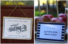 Festive Backyard Baby-Q Bash! on http://pizzazzerie.com