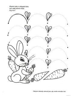Risultati immagini per pracovní listy jaro Montessori Activities, Educational Activities, Learning Activities, Activities For Kids, Kindergarten Centers, Kindergarten Math Worksheets, Tracing Worksheets, Preschool Writing, Fall Preschool