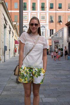 DIY Lemon Short Burda Hi Gorgeous, Boho Shorts, Sewing Projects, Lemon, Diy, Clothes, Style, Fashion, Outfits