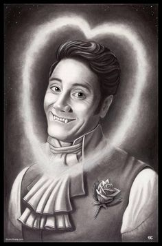 What We Do in the Shadows. fan art. Taika Waititi as Viago the Vampire.