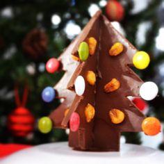 Árbol de chocolate con kikos