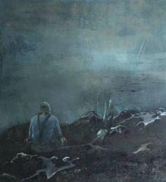 """Saatchi Art Artist Liana Nakashidze; Painting, """"Sea of Silence"""" #art"""