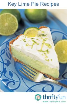 This page contains key lime pie recipes. Key lime pie is a classic summer treat and great way to use up surplus lime. Whether you are lucky enough to have lime tree in your backyard or have to buy them from the store, here are some recipes for you. Authentic Key Lime Pie Recipe, No Bake Desserts, Dessert Recipes, Keylime Pie Recipe, Easy Pie Recipes, Summer Recipes, No Bake Pies, Sweet Tooth, Sweet Treats