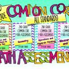 This is a BUNDLED pack of 4 of my assessment packs. Buy them together at a 20 % discount! This pack of math assessments aligns with 2nd grade Commo...