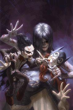 Disturbingly Badass Batgirl and Ventriloquist CoverArt - News - GeekTyrant