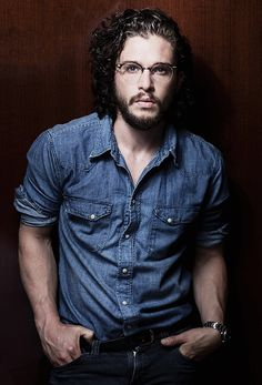 Kit Harington - Born Christopher Catesby Harington (England)