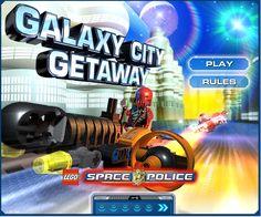 Lego Galaxy City Getaway online spielen