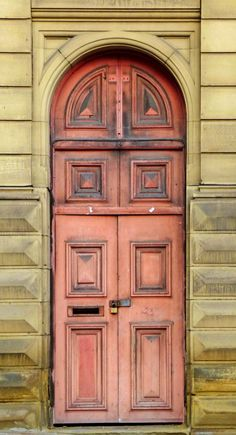 Dewsbury Cathedral doors ~ West Yorkshire, England