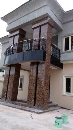 4 bedroom detached duplex with bq pearl gardens estate for Modern duplex house plans in nigeria