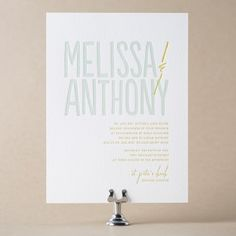 Studio Wedding Invitation Design