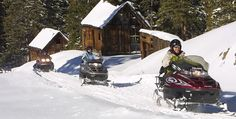 Snowmobile Timberline Tour in Telluride, Colorado.. fun for all ages #JetsetterCurator