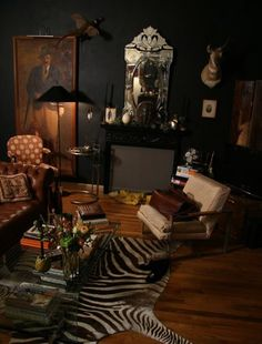 see more black rooms at my blog (click link)